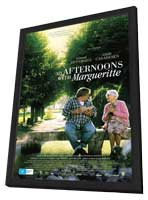 My Afternoons with Marguerite - 11 x 17 Movie Poster - Australian Style A - in Deluxe Wood Frame