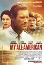 """My All American"" Movie Poster"