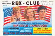 My American Uncle - 27 x 40 Movie Poster - Belgian Style A