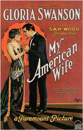 My American Wife - 11 x 17 Movie Poster - Style A