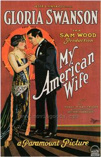 My American Wife - 43 x 62 Movie Poster - Bus Shelter Style A