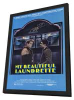 My Beautiful Laundrette - 11 x 17 Movie Poster - Style A - in Deluxe Wood Frame
