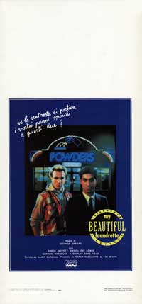 My Beautiful Laundrette - 13 x 28 Movie Poster - Italian Style A