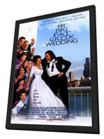 My Big Fat Greek Wedding - 27 x 40 Movie Poster - Style B - in Deluxe Wood Frame