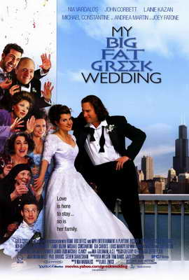 My Big Fat Greek Wedding - 27 x 40 Movie Poster - Style B