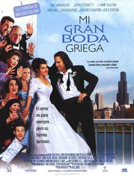 My Big Fat Greek Wedding - 27 x 40 Movie Poster - Spanish Style A