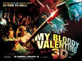 My Bloody Valentine 3-D - 30 x 40 Movie Poster UK - Style A