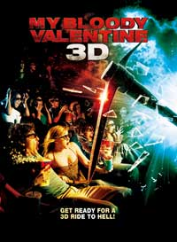 My Bloody Valentine 3-D - 11 x 17 Movie Poster - Style D