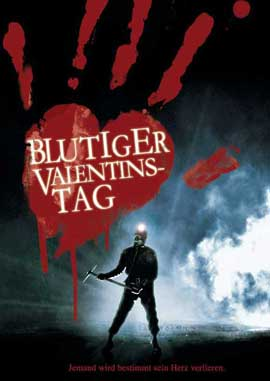 My Bloody Valentine - 11 x 17 Movie Poster - German Style A