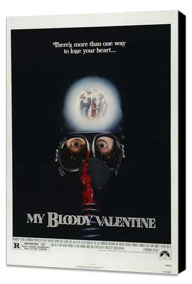 My Bloody Valentine - 27 x 40 Movie Poster - Style B - Museum Wrapped Canvas