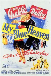My Blue Heaven - 43 x 62 Movie Poster - Bus Shelter Style A
