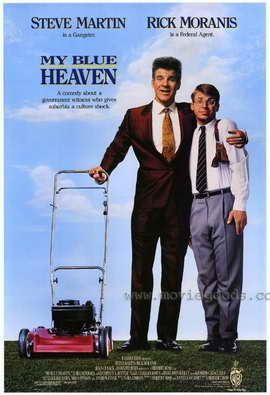 My Blue Heaven - 27 x 40 Movie Poster - Style A
