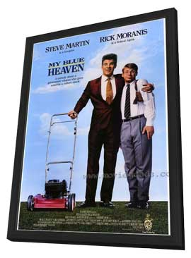 My Blue Heaven - 27 x 40 Movie Poster - Style A - in Deluxe Wood Frame
