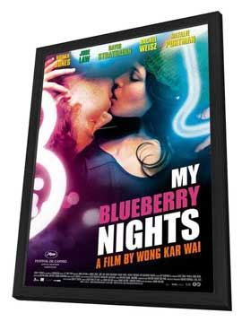 My Blueberry Nights - 27 x 40 Movie Poster - Dutch Style A - in Deluxe Wood Frame
