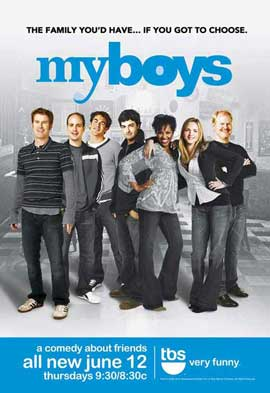 My Boys (TV) - 11 x 17 TV Poster - Style B