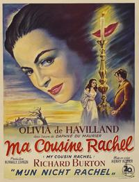 My Cousin Rachel - 27 x 40 Movie Poster - German Style A