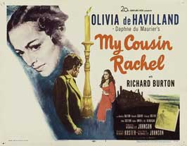 My Cousin Rachel - 22 x 28 Movie Poster - Half Sheet Style A