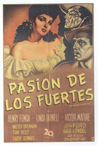 My Darling Clementine - 11 x 17 Movie Poster - Spanish Style B