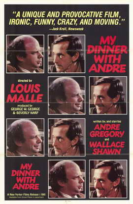 My Dinner with Andre - 11 x 17 Movie Poster - Style A