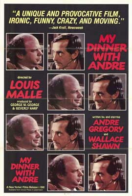 My Dinner with Andre - 27 x 40 Movie Poster - Style A