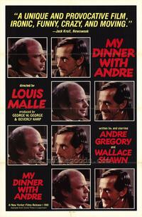 My Dinner with Andre - 43 x 62 Movie Poster - Bus Shelter Style A