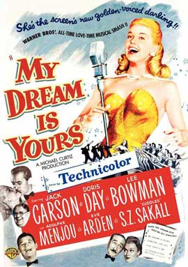 My Dream Is Yours - 27 x 40 Movie Poster - Style B