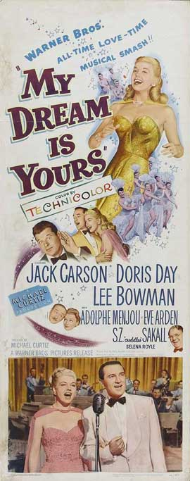 My Dream Is Yours - 14 x 36 Movie Poster - Insert Style A