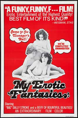 My Erotic Fantasies - 11 x 17 Movie Poster - Style A