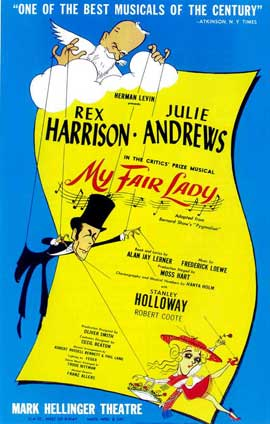 My Fair Lady (Broadway) - 14 x 22 Poster - Style A