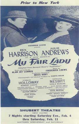 My Fair Lady (Broadway) - 14 x 22 Poster - Style B