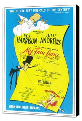 My Fair Lady (Broadway) - 11 x 17 Poster - Style A - Museum Wrapped Canvas