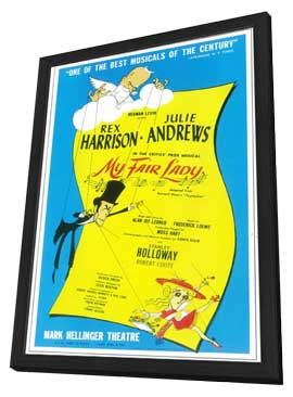 My Fair Lady (Broadway) - 11 x 17 Poster - Style A - in Deluxe Wood Frame