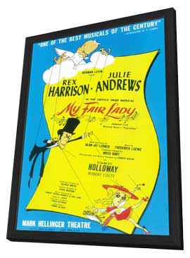 My Fair Lady (Broadway) - 14 x 22 Poster - Style A - in Deluxe Wood Frame
