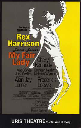 My Fair Lady (Broadway) - 11 x 17 Poster - Style A