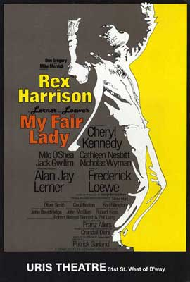 My Fair Lady (Broadway) - 27 x 40 Movie Poster - Style A