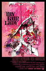 My Fair Lady - 11 x 17 Movie Poster - Style A