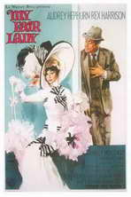 My Fair Lady - 11 x 17 Movie Poster - Style K