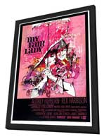 My Fair Lady - 27 x 40 Movie Poster - Style A - in Deluxe Wood Frame