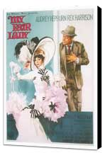 My Fair Lady - 11 x 17 Movie Poster - Style K - Museum Wrapped Canvas
