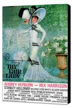 My Fair Lady - 11 x 17 Movie Poster - Style L - Museum Wrapped Canvas