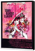 My Fair Lady - 27 x 40 Movie Poster - Style A - Museum Wrapped Canvas