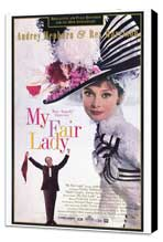 My Fair Lady - 27 x 40 Movie Poster - Style B - Museum Wrapped Canvas