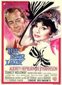 My Fair Lady - 11 x 17 Movie Poster - Style B