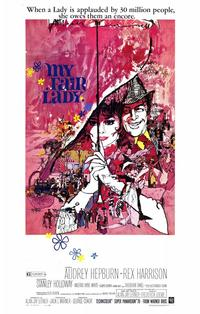 My Fair Lady - 11 x 17 Movie Poster - Style C