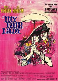 My Fair Lady - 11 x 17 Movie Poster - German Style A