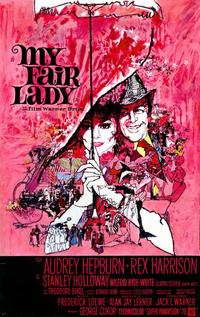 My Fair Lady - 11 x 17 Movie Poster - Belgian Style A