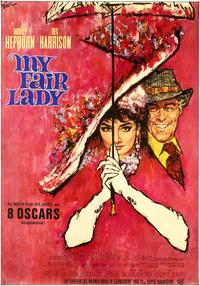 My Fair Lady - 11 x 17 Movie Poster - German Style B