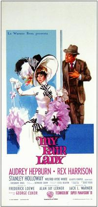 My Fair Lady - 11 x 17 Movie Poster - Italian Style A