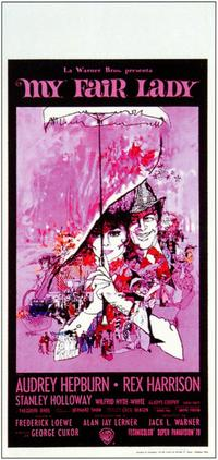 My Fair Lady - 11 x 17 Movie Poster - Italian Style B