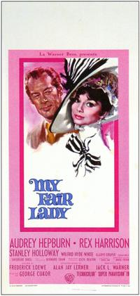 My Fair Lady - 11 x 17 Movie Poster - Italian Style C